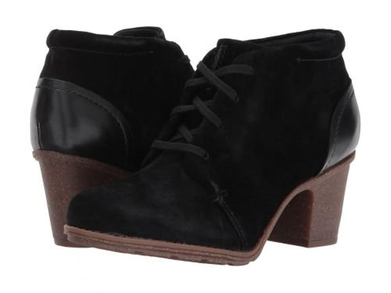 構成員教会算術Clarks(クラークス) レディース 女性用 シューズ 靴 ブーツ レースアップブーツ Sashlin Sue - Black [並行輸入品]