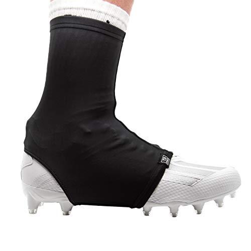 Black, X-Large TCK Football Spat Cleat Covers