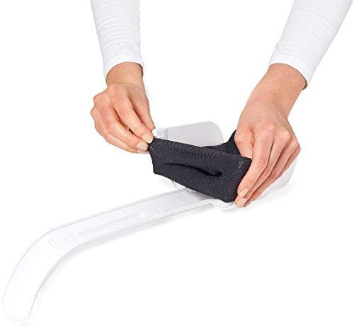 TronicXL Sockenanziehhilfe Sockenanzieher Socken Strumpf Anzieher Anziehhilfe für Senioren Schwangere Schwangerschaft Hilfe Hilfsmittel nach hüftoperation hüft op