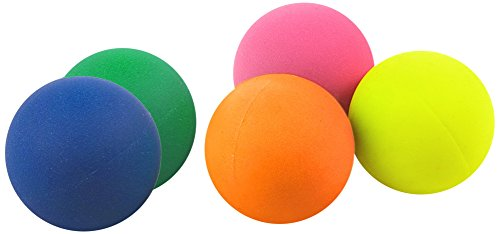 Color Baby - Set de 5 Pelotas para Palas Playa (53253)