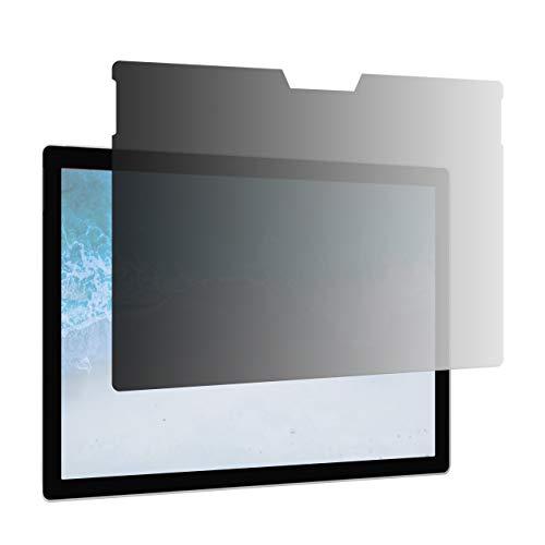 Filtro privacy Slim AmazonBasics per schermo, per Microsoft Surface Pro 4 / Pro 5 / Pro 6 da 12,3 pollici, antimicrobico, antiriflesso e con filtro UV e anti-luce blu (30,7 x 21,8 cm)