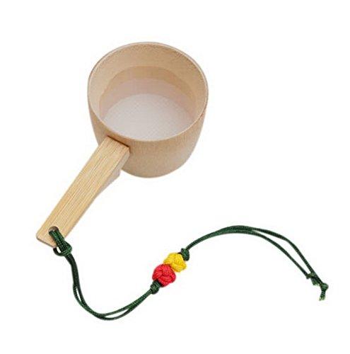 Spicy Meow Accessoire créatif Japonais de cérémonie de thé de Kung Fu, Filtre à thé Simple de poignée Courte
