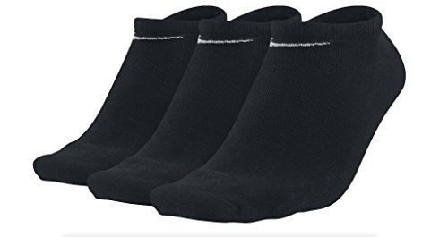 Nike Herren Socken Sport No Show, 3er Pack, Schwarz, 46-50 / XL