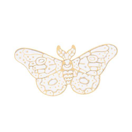 FSAKLFS Niedlichen Tier Broschen Frauen Schmetterling Libelle Adler Pin Emaille Pins Pullover Jacken Rucksack Schmuck Dekoration