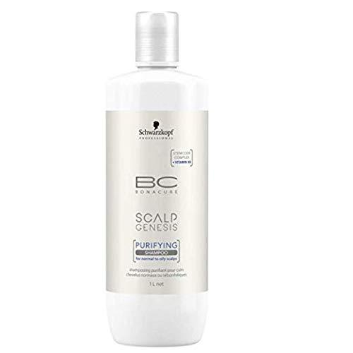Glamorous Hub Schwarzkopf Professional Bonacure Scalp Genesis Shampoo Purify, 1 l (el empaque puede variar)