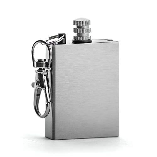 PRECORN Streichholz-Feuerzeug Schlüsselanhänger Outdoor Schlüsselanhänger Camping Survival Marke