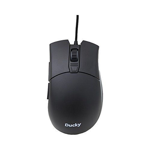 Ducky Channel 400-5000 DPI RGB Lighting Secret Mouse with Omron Switch and Pixart Sensor