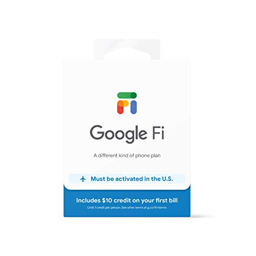 Google Fi SIM Card Kit