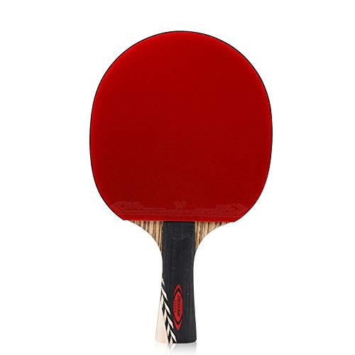 SSHHI 5 Estrellas Raquetas de Tenis de Mesa,Raquetas de Ping Pong Intermedia,Unisex, Resistente al Desgaste/Como se muestra / 15×25 cm