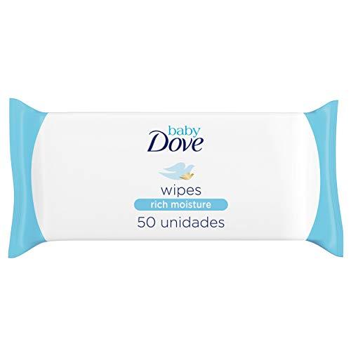 Baby Dove - Toallitas Limpiadoras Hidratación Profunda - 1 x 50 toallitas