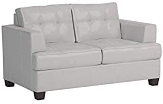 Best white bonded leather loveseat Reviews