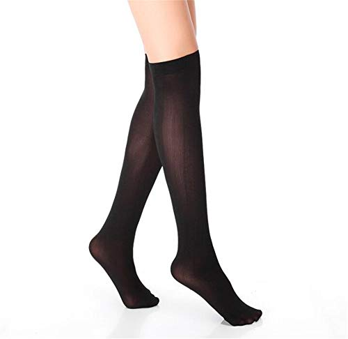 by Unbranded Ladies sexy mid-tube stockings, core-spun stockings, over-the-knee socks