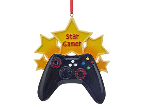 Kurt Adler Star Gamer Decorative Hanging Ornament