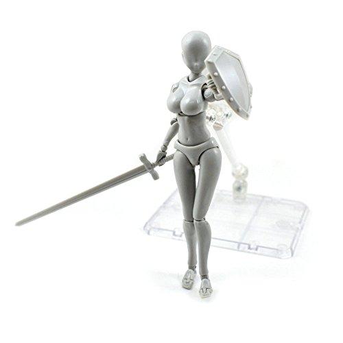 Lishiny 2.0 Action Figure Female Model for SHF Body Kun Doll PVC Body-Chan DX Set (Female)