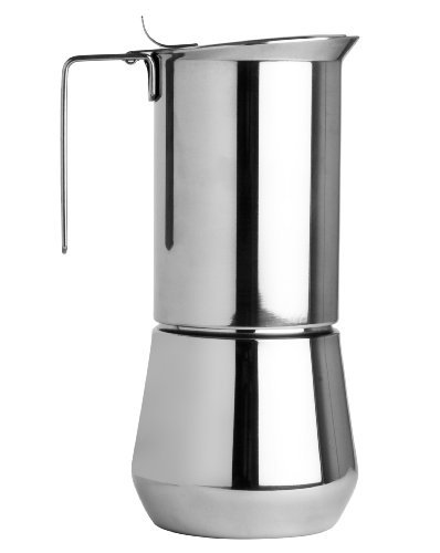 Great Deal! Ilsa Stainless Steel 6 Cup Stovetop Espresso Maker by Ilsa