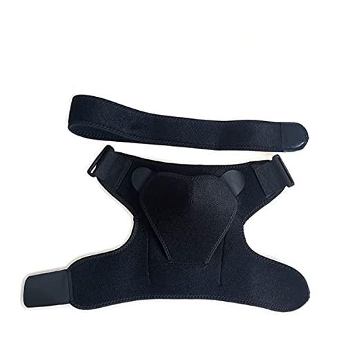 MTYQE Hombrera ortopedica, Hombreras, cómodo, Transpirable, Ajustable, Utilizado para aliviar el Dolor de Hombro, desgarro del Manguito rotador, dislocación de articulaciones, esguince, tendinitis
