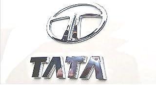DELHI TRADERSS Tata 3D Chrome Plated Emblem Logo Decal For Car/Suv/Sedan/Automobiles