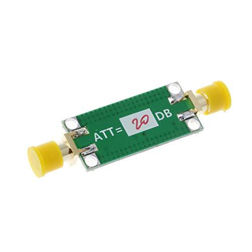 BIlinli 6dB / 10dB / 20dB / 30dB / 40dB Atenuador de Ganancia Fija 0-3GHZ Atenuador de RF para amplificadores de Radio de jamón
