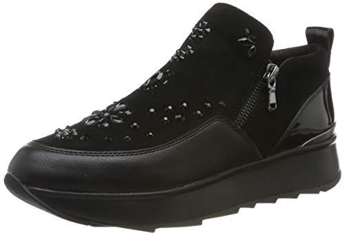 Geox D GENDRY C, Zapatillas sin Cordones Mujer, Negro (Black C9997), 38 EU