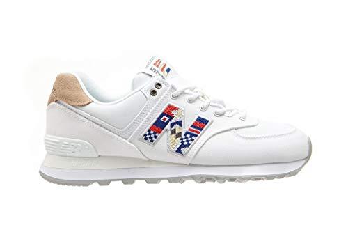New Balance 574 Damen Sneaker WL574SOD, Weiß - Bianco - Größe: 36.5 EU
