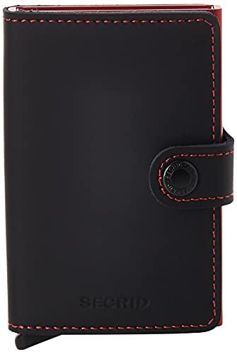 Miniwallet Matte Black & Red