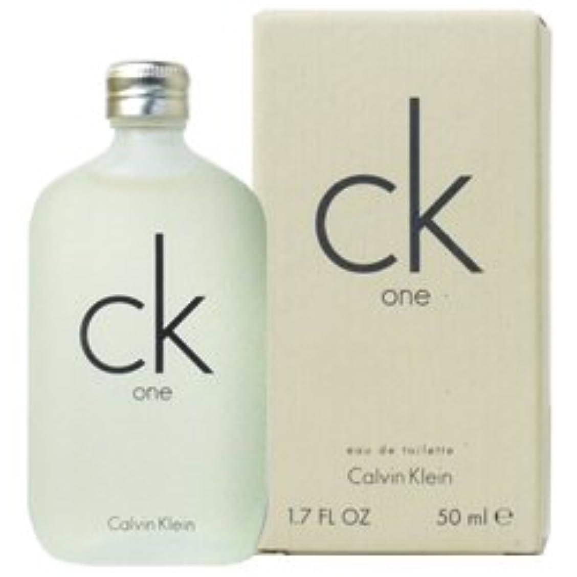 感動する簡単に法廷CK カルバンクライン CK-ONE EDT 50mL 【並行輸入品】