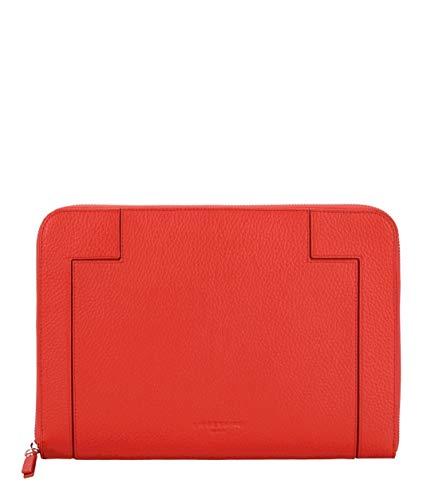 Liebeskind Berlin L-Bag Traveler Case Laptop Tasche, Large (21 cm x 29 cm x 1cm), poppy red