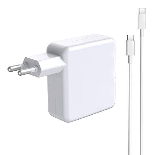 Tister Adaptador de Corriente USB-C de 30 W Compatible con Cargador MacBook Air USB C, Cargador de Repuesto para Mac Air (Retina, 13 Pulgadas 2018 2019 2020) y Otros