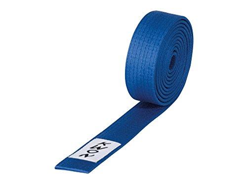 KWON Budogürtel 4 cm breit 280 blau