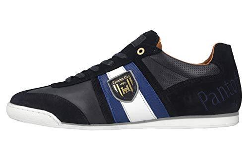 Pantofola d\'Oro Imola Scudo NB Uomo Low Sneaker in Übergrößen Blau 10201047.29Y/10201071.29Y große Herrenschuhe, Größe:46