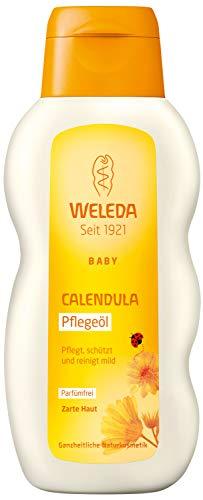WELEDA Huile de Massage Douceur au Calendula, 200 ml