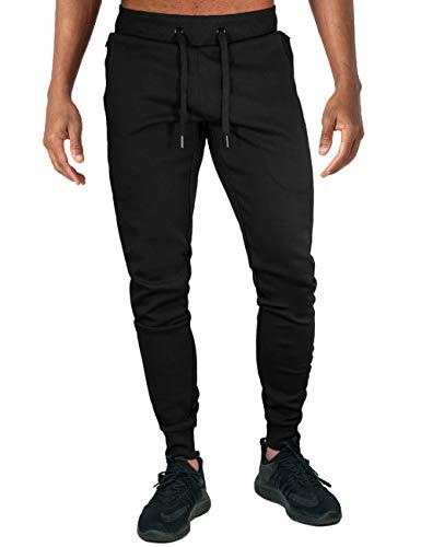 TOTNMC Joggers for Men Slim Fit for Men Pants Fitness for Men Clothes Fashion Running Pants Men Slim Black