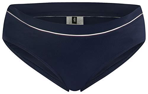 Noppies Damen Brief Nannette Umstandsbikinihose, Blau (Dress Blues P093), 38 (Herstellergröße: M/L)