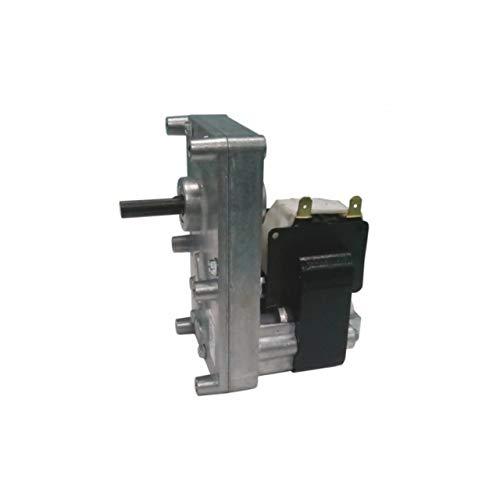 Motor de engranaje original de MORETTI DESIGN 2 rpm, diámetro del eje: 8,5 mm, para estufas de pellet.