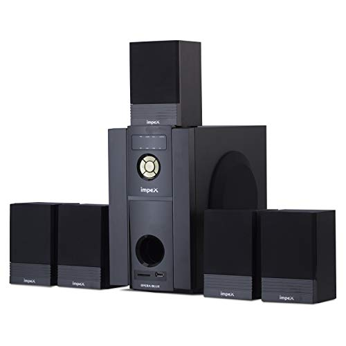 Impex 5.1 Opera Blue 45 W Multimedia Bluetooth Speaker System (Black)