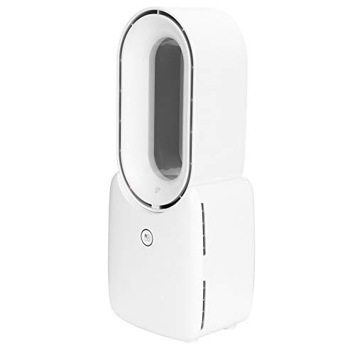 Ventilador sin aspas, Ventilador eléctrico, Elegante portátil para Oficina Que simula la refrigeración Natural del hogar