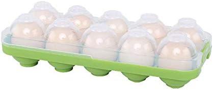 frigor/ífico color azul para cocina capacidad para 10 huevos huevera RedKids Huevos de pl/ástico con soporte para huevos