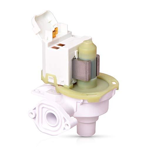 Ablaufpumpe Pumpe Ersatz für Bosch Siemens 00095684 Magnettechnikpumpe Pumpe Abwasserpumpe 30 Watt für Geschirrspüler Spülmaschine