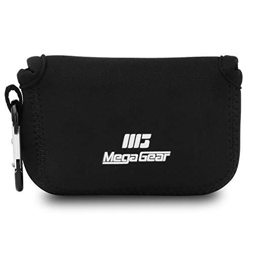 MegaGear MG789 Estuche de cámara ultra ligero, de neopreno compatible con Nikon Coolpix W150, W100, S33 - Negro