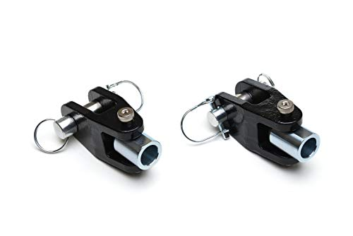 Roadmaster 035-1 Tow Bar Adapter for 1 Inch Bumper Mounts - One Pair