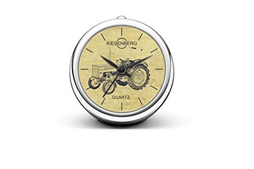 KIESENBERG Design Tischuhr Geschenk für 423 Traktor Trecker Fan Uhr T-20608