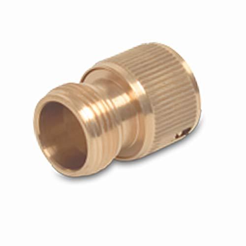 Raccord de tuyau rapide en laiton Easy Klick avec filetage extérieur 19 mm