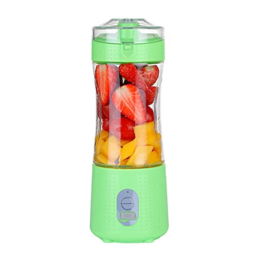YLLYLL Mini Blender Portable Smoothie Maker USB Electric Orange Juicer Machine Cup for Personal Fruit Mixer Juice Extractor Gym - Perfect Travel Partner (Color : F)