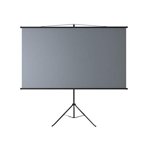 XLOO Beamer Leinwand,Projector Screen,4K Ultra HD,Tragbarer Außen-Indoor-Film-Breitbildschirm mit Faltbarem,Versenkbarem Stativ für Heimkino,Spiele,Büro,16: 9