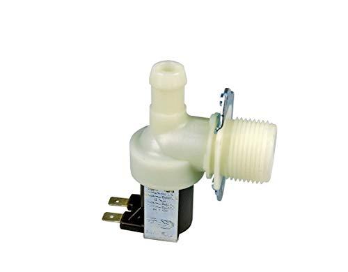 VIOKS Magnetventil Ventil Einlaufventil für Waschmaschine oder Spülmaschine 1-fach 90° 14,0mmØ Universal