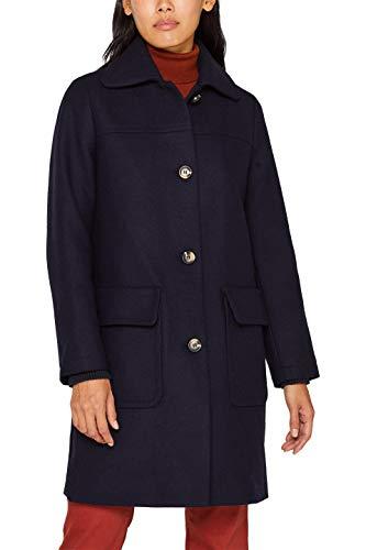 Esprit 099ee1g039s Abrigo, Azul (Navy 400), XX-Large para Mujer