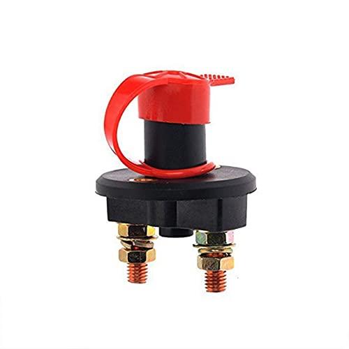 Duble 200A Mini Interruptor de batería aislador de batería 32 V Interruptor de desconexión Selector Llave extraíble para vehículo Barco