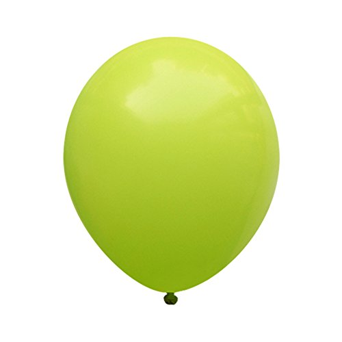 "Neo LOONS 12"" Pastel Lime Green Premium Latex Balloons -- Great for Kids , Adult Birthdays, Weddings , Receptions, Baby Showers, Water Fights, or Any Celebration, Pack of 100"