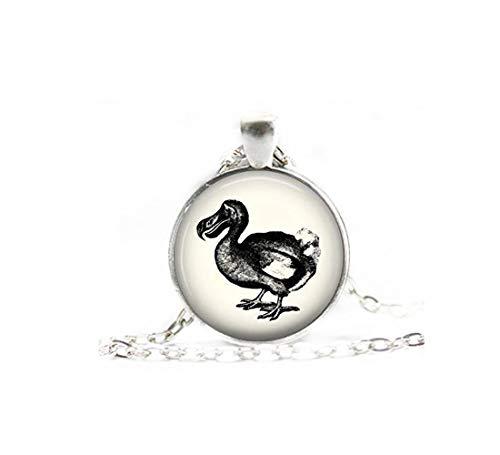 Heng Yuan Tiana Cheng Dodo Vogel Schmuck, Dodo Vogel Halskette, Geschenk für Sie, Dodo Vogel Anhänger, Dodo Vogel