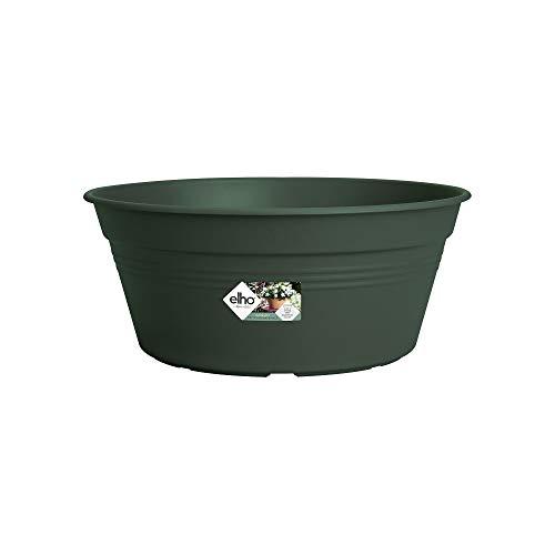 Elho Green Basics Bol de Fleurs, Vert, 38 cm